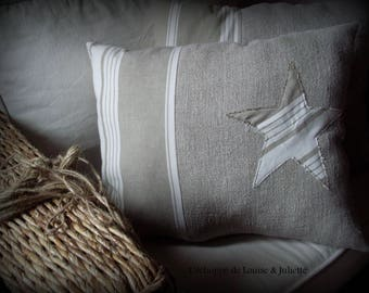 Industrial hemp cushion