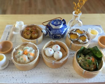 Miniature Dim Sum Collection (Magnets!)