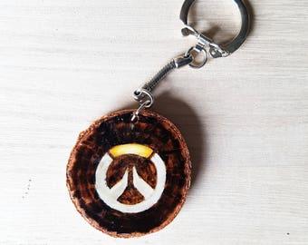 Overwatch Wooden Keychain. Gaming, keychain, Wood
