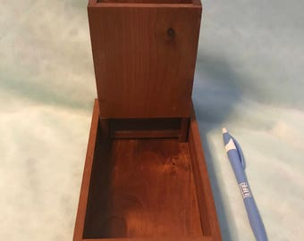 Wooden Dice Tray for Dungeon and Dragons - Made in Vermont