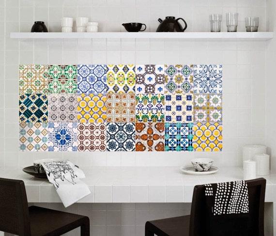 tile decals stickers tile decals tile decals for kitchen. Black Bedroom Furniture Sets. Home Design Ideas