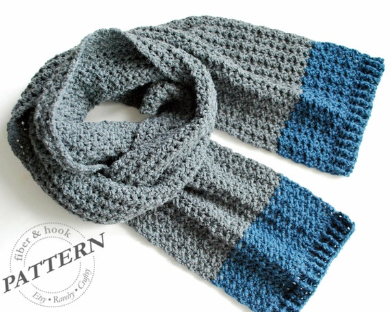 Crochet Pattern Isle Of Man Scarf Crochet Scarf Pattern Easy