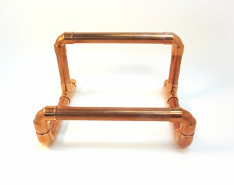 Copper Cookbook Stand | Cookbook holder | Industrial Book stand | Kitchen accessory | Copper Book Holder | Desk Organizer | Mail Holder