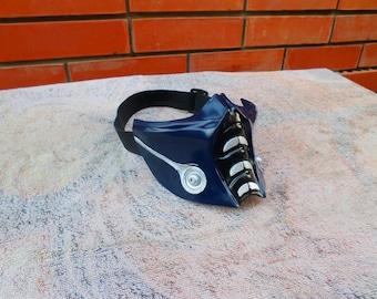 Sub-Zero mask (Mortal Kombat, replica 1:1, cosplay, craft, workshop, handmade)
