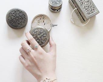 Sterling silver ring, Lotus ring, made in VietNam