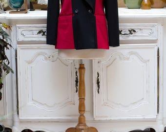 Vintage 1980's Black and Red Jacket