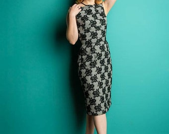 The Margaret Dress Mad Men Retro Pinup Small 2/4