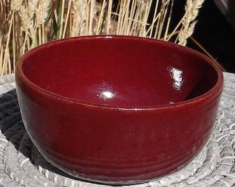 Christmas gift - Tea Bag Holder - Red Pottery Dish
