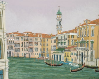 GRAND CANAL, VENICE -- Limited Edition Print