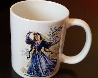 Armenian theme 11 oz ceramic coffee/tea mugs
