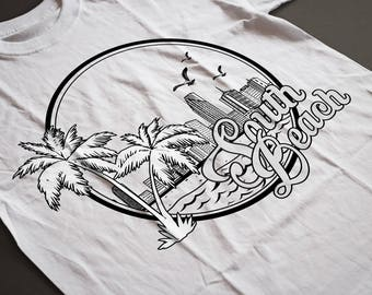 South Beach, South Beach Shirt, South Beach Miami, South Beach Design, South Beach Artwork, South Beach svg