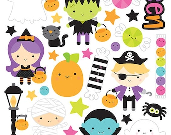 Booville Doodlebug Design stickers/ Perfect for Planners/Calendars/scrapbook/Invitations/Greeting Cards/Holiday / Halloween/Pumpkin/