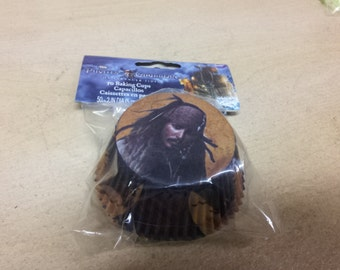 pirates of the Caribbean baking cups,baking cups, cupcake liners,wilton, cake supplies,baking supplies