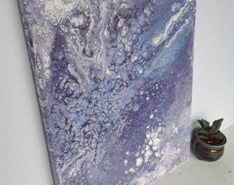 "Purple Haze: Original Acrylic Painting - 11""x14"" canvas"