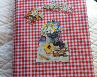 Handmade Farm/Family themed junk journal