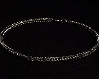 Box chain Stainless Steel (4mm) Chainmail Jewellery Necklace