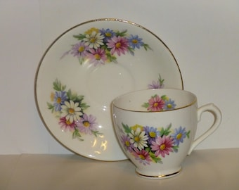 Crownford Bone China Cup and Saucer Made in England