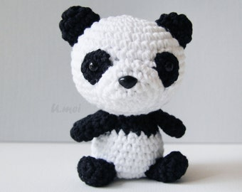 Panda Amigurumi/Crocheted Toy