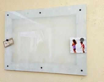 "18""x24"" Dry Erase Board, Magnetic, Calendar, Whiteboard, Message Board, Office Memo Board, Framed Dry Erase Board, Organization Bulletin"