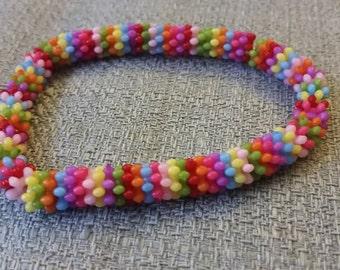 Fun Multi-color Bead Bracelet