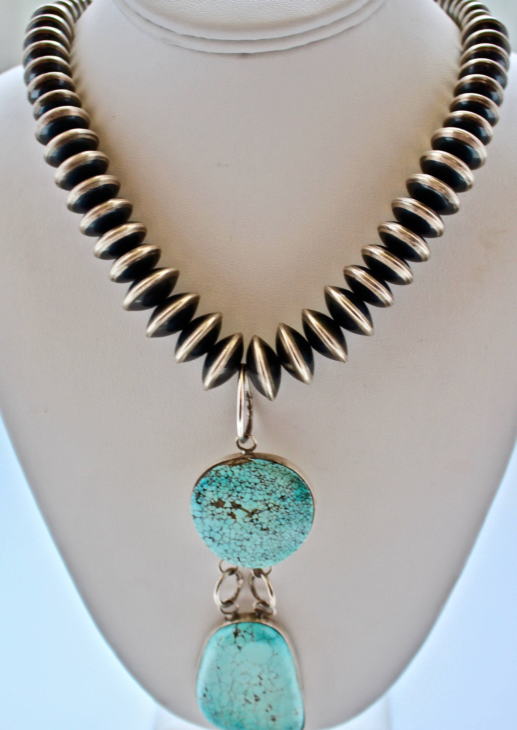 feather southwestern vintage coral sterling signed pin navajo pendant necklace turquoise