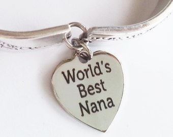 Spoon bracelet, Nana gift, Caprice 1937 silverware, Mom Grandmother, Mothers day, ready to ship, free shipping and gift box