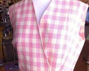 Vintage Niemun Marcus pink vest