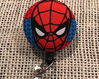 Spiderman retractable badge reel!