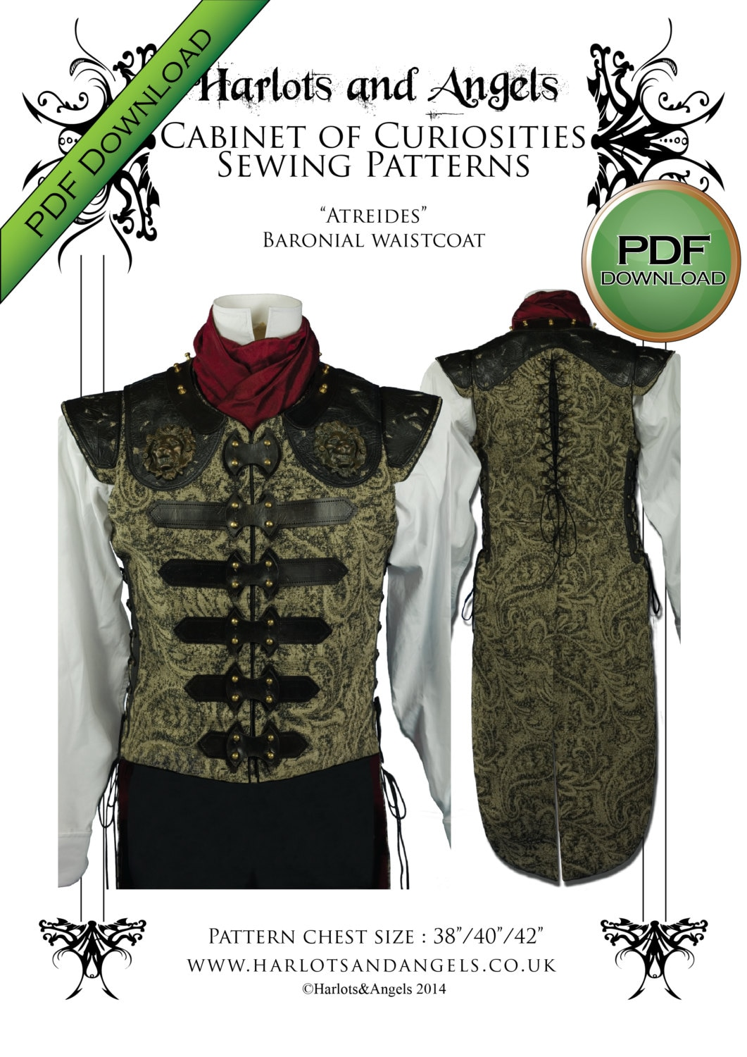 Amazing Tailcoat Sewing Pattern Mold - Easy Scarf Knitting Patterns ...