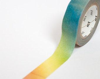 Arc en ciel dégradé Washi Tape • MT Masking Tape MT ex Washi Tape • Papeterie japonais Washi Tape UK • dégradé