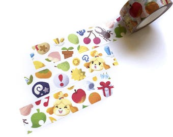 Animal Crossing Washi Tape Isabelle ACNL Washi Tape Pocket camp