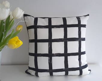 "Cushion cover ""Plaid"""
