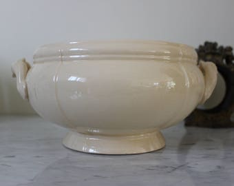 Vintage French tureen Sarreguemines