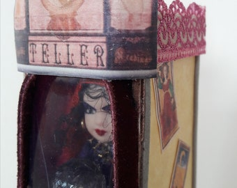 1:12 scale fortune teller's booth