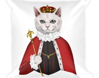 Queen Catington XVI Cushion