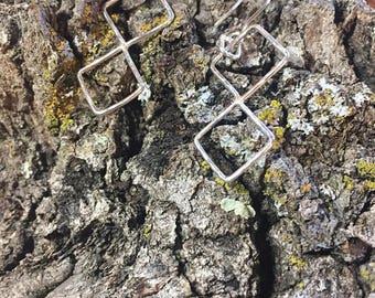 Earrings Static Squares