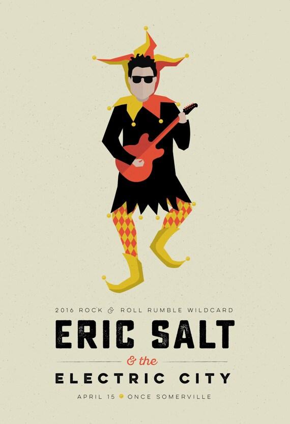 Eric Salt Wildcard Poster  // Once Ballroom, Somerville
