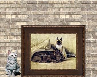 Childs Room Art, Family Room Art, Guest Room Art, Bedroom Art, Gift for Animal Lover #505