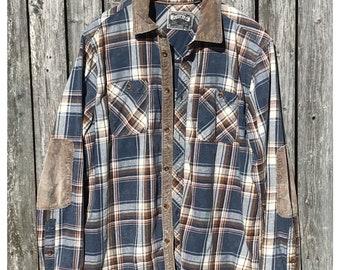 Jerimiah corduroy lined flannel shirt