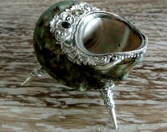 Green Kapulaga Shell Vase/Bowl
