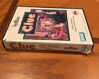 Clue for Sega Genesis with Box