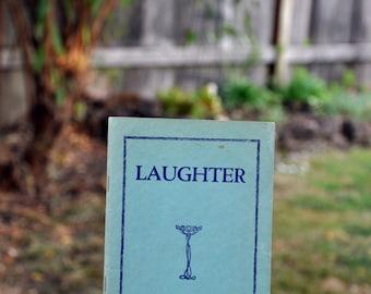 Laughter, comedy, hilarity, joke book, 1925