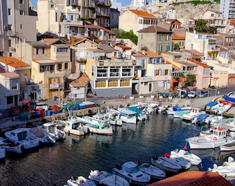 Vallon des Auffes, fine art paris photography, Marseille photo, travel photo, wall decor