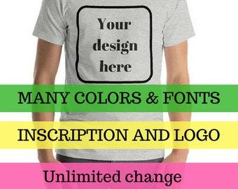 Custom T-Shirt | Create your own T-Shirt | Personalized Shirt | Printed T-shirt | Custom Hoodie | Short-Sleeve T-Shir