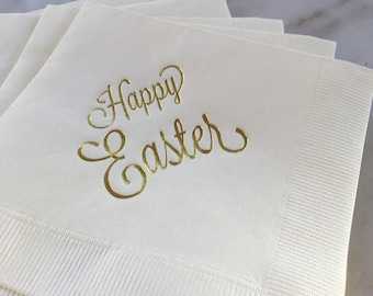 Easter napkins etsy easter napkin easter brunch easter lunch easter dinner easter decor paper negle Image collections