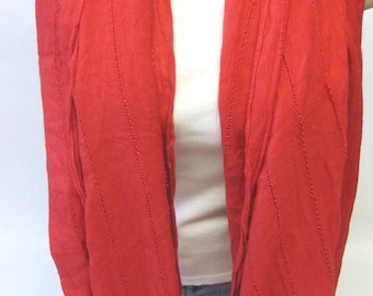 Red Scarf Shoulder Wrap Accessory