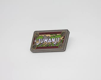 Jumanji Board Game Enamel Pin