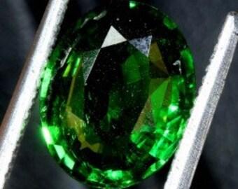 3.11 carats TSAVORITE GARNET - certified