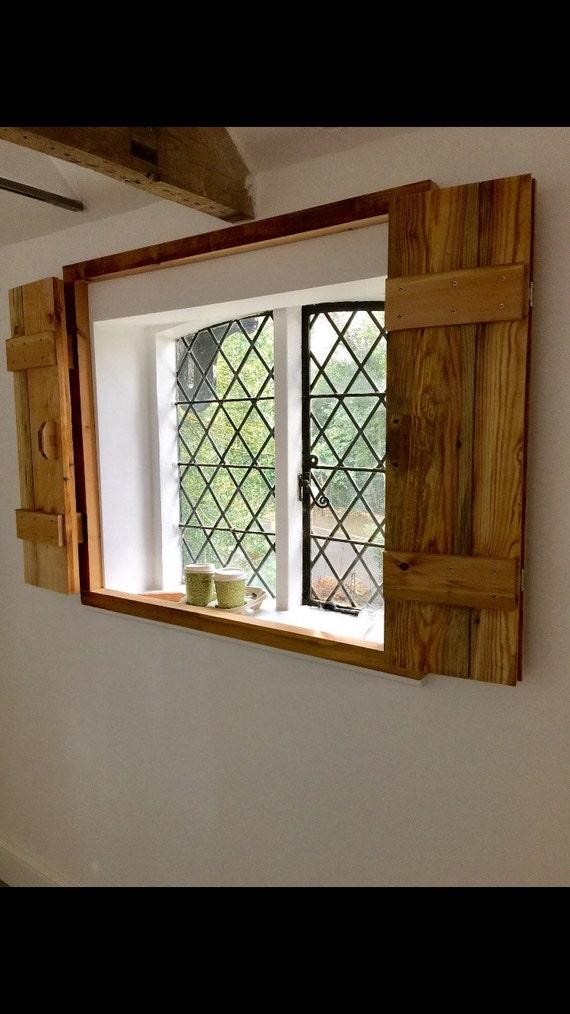 Window Shutters Shabby Chic Farmhouse Furniture Rustic
