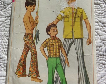 Retro 1969 SIMPLICITY Sewing Pattern 8173